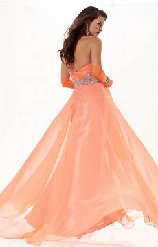 Dress Design Features Tiffany Designs 16744 Empire Waist Chiffon Dress Prom Dress