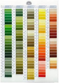Dmc Chart Dmc Stranded Cotton Embroidery Thread Colour Chart