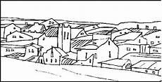 Malvorlagen Landschaften Gratis Cc Dorf Ausmalbild Malvorlage Landschaften