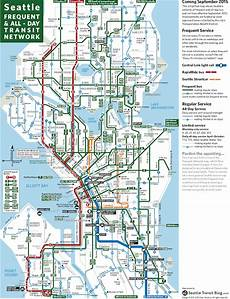 Colombo Light Rail Route Map Seattle Frequent Network Maps Preview Sept 2015