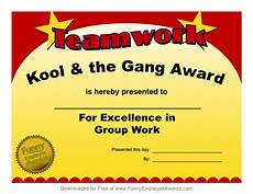 Fun Certificates For Employees 10 Perfect Funny Award Ideas For Employees 2019