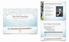 Academic Powerpoints Academic Tutor Amp School Powerpoint Presentation Template