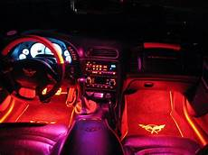 Red Led Interior Lights C5 Corvette Footwell Led Lighting Southerncarparts Com