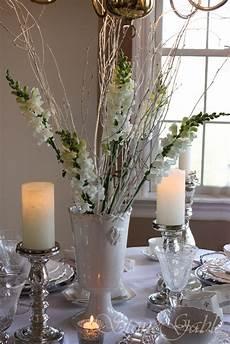 winter white tablescape stonegable