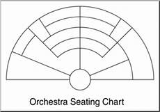 Orchestra Seating Chart Worksheet Clip Art Orchestra Seating Chart B Amp W 1 Blank I Abcteach