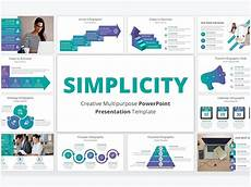 Business Presentation Powerpoint Templates Simplicity Powerpoint Template By Templates On Dribbble