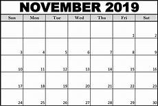 Calendars Printable November 2019 Calendar Template With Notes Catchy