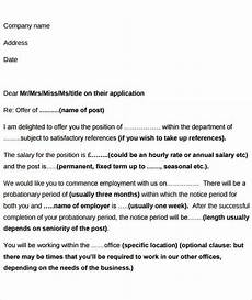 Can You Negotiate An Offer Letter Free 39 Offer Letter Examples In Ms Word Pages Google