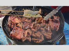 Korean Traditional Galbi BBQ: Grilled Beef Short Ribs (??