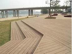 Light Decking Material China C Amp L Anti Slip Light Brown Color Wpc Outdoor Decking