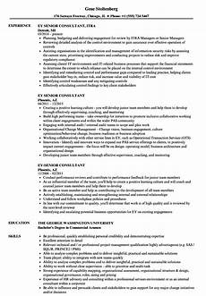 Ernst And Young Resume Sample Ernst Young Cv Template Gallery Certificate Design And