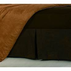 shop hiend accents faux leather 16 inch drop king size