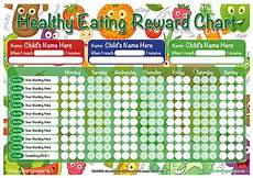 Food Chart For Kids A3 Healthy Eating Childrens Reward Chart Quality Uk Products