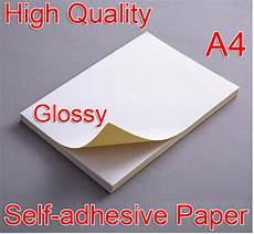 Label Paper A4 White Glossy Self Adhesive Sticker Sticky Back Label