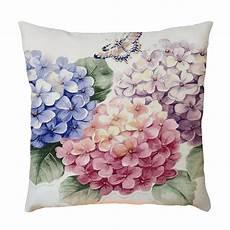 retro flower print throw pillow decorative pillows