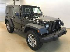 2016 Jeep Wrangler Rubicon 4x4 Manual Transmission