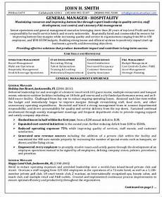 Hospitality Manager Resume Sample Hospitality Resume 8 Examples In Word Pdf