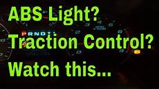 What Causes The Traction Control Light To Come On What Causes Abs And Traction Light To Come On