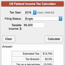 Income Tax Calculation Chart Income Tax Calculator