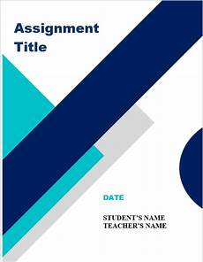 Cover Page For Assignment Free Download Assignment Front Page Format Design Amp Pdf Digiandme Com