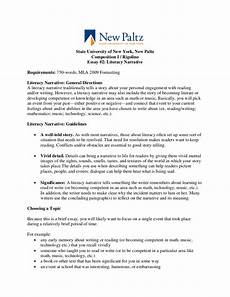 Narrative Essay Definition And Examples Essay 2 Literacy Narrative