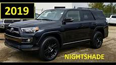 2019 Toyota Forerunner by 2019 Toyota 4runner Nightshade Edition In Black Review And