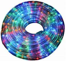 Outdoor Multi Coloured Rope Lights 10m Multi Coloured Rope Light Amazon Co Uk Lighting