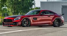 Red S Custom Design Mercedes Amg Gt S By Prior Design Is Oh So Very Wide