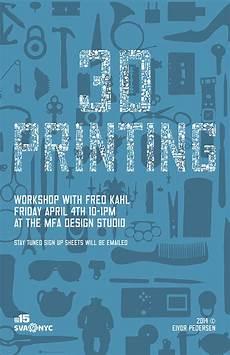 3d Printing Poster Design 3d Printing Poster On Behance