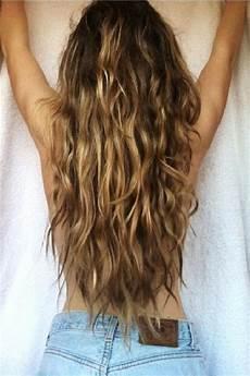 hair beach beachy waves back view of wavy hair