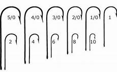 Freshwater Fishing Hook Size Chart What Fishing Hook Sizes Are There