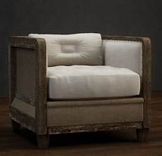 Individual Sofa 3d Image by Classic Single Fabric Wood Sofa 3d Model 3dsmax Files Free