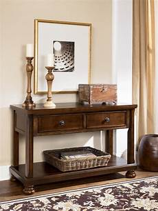 Sofa Console Tables 3d Image porter sofa table media console from t697 4