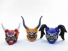 9 99 lego ninjago 3 oni minifigure mask of deception