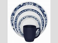 Corelle Livingware 16 Piece Dinnerware Set   True Blue