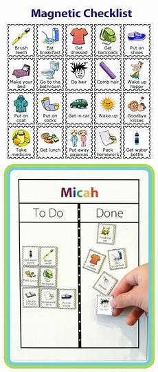 To Do Chart For Toddlers Week 30 Learning Life Skills With A Magnetic Checklist