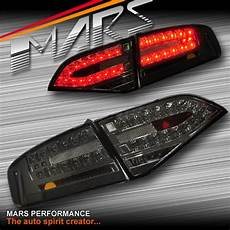 Audi A4 Smoked Lights Smoked Black Led Lights For Audi A4 B8 4d Sedan 08 12