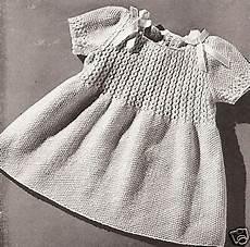 vintage knitting pattern to make smocked toddler coat hat