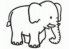 Malvorlage Tiere Einfach Ausmalbilder Elefanten 15 Ausmalbilder Tiere