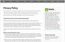 Privacy Policy Sample Truth Will Out Why Authenticity Is The Key To Growing