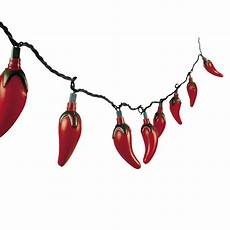 Chili Pepper Lights 8ft Red Chili Pepper Lights Cinco De Mayo Fiesta
