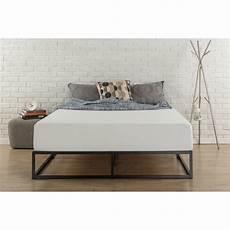 zinus joseph modern studio 10 quot platforma low profile bed