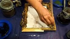 come fare cornici per quadri rendiamo antica una cornice fai da te arte per te