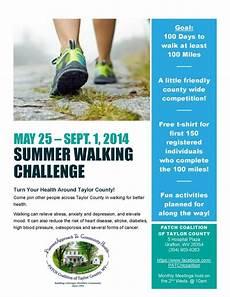 Walking Flyer Summer Walking Challenge Alex S Lemonade Stand