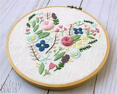 floral embroidery pattern the polka dot chair