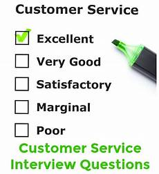 Customer Service Questions Customer Service Interview Question And Answer Guide
