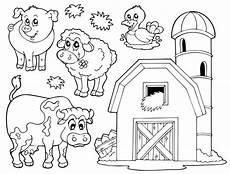 Ausmalbilder Vorlagen Bauernhof Ausmalbilder Bauernhof 05 Bauernhof Tiere Wenn Du Mal