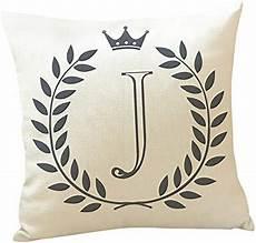 throw pillow letters pattern print cotton linen