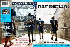 Friday Night Lights Season 1 Blu Ray Friday Night Lights Season 1 Tv Dvd Custom Covers