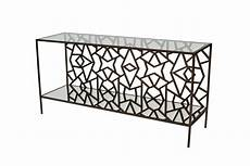 Silver Sofa Tables Living Room Png Image by Cracked Console Table With A Guilt Medium Bronze